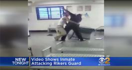 Inmate Guard Fight At Rikers Island